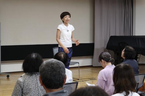 シルバー大学同窓会 太藻ゆみこ 講演